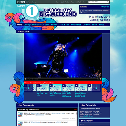 BBC ends Big Weekend live coverage with a bang - great and varied set from Lady Gaga