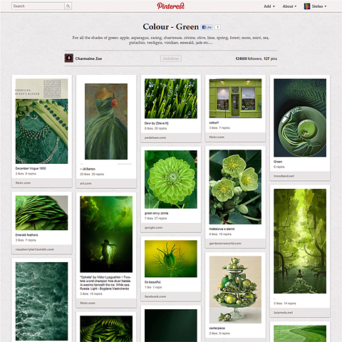 We're loving the new 'Visual Twitter' Pinterest