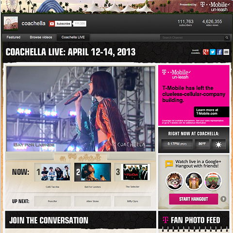 Coachella 2013 is best streaming coverage yet